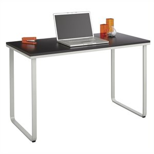 Safco Steel Workstation in Black and Silver