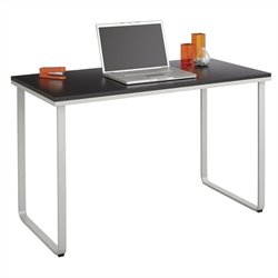 Steel Workstation in Black and Silver