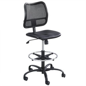 Heavy Duty Stool in Black Vinyl
