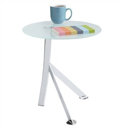 Safco Vari Accent Table in Chrome