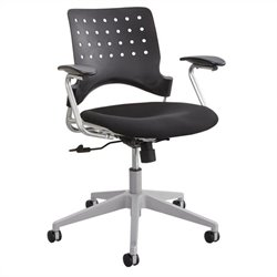 Task Office Chair Square Back in Black