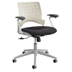 Task Office Chair Square Back in Latte