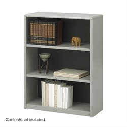 3-Shelf ValueMate Economy Steel Bookcase