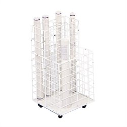 4 Compartment Wire Roll File