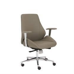 Eurostyle Bergen Low Back Office Chair in Taupe