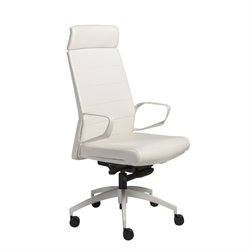 Gotan Powder Coated Office Chair in White