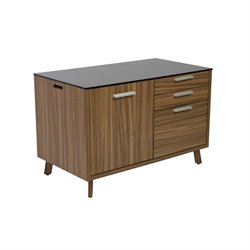Hart 3 Drawer Wide File Cabinet