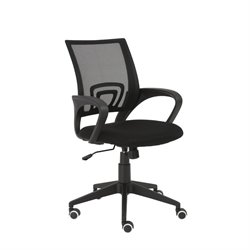 Eurostyle Machiko Office Chair in Black Mesh