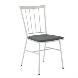 Eurostyle Rhaxma Dining Chair in Gray (Set of 4)