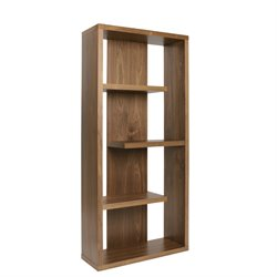 Eurostyle Robyn 4 Shelf Bookcase in Walnut