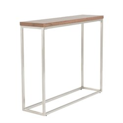 Eurostyle Teresa Console Table in American Walnut