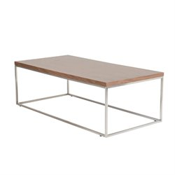 Eurostyle Teresa Coffee Table in American Walnut