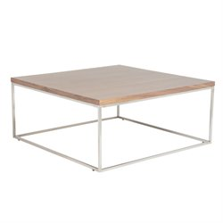 Eurostyle Teresa Square Coffee Table in American Walnut