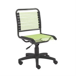 Eurostyle Bungie Low Back Office Chair in Green and Graphite Black