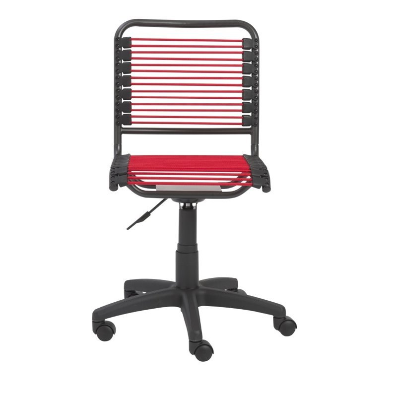 Eurostyle Bungie Low Back Office Chair in Red