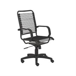 Eurostyle Baldwin High Back Black/Graphite Black Office Chair