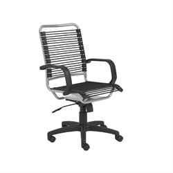 Eurostyle Baldwin High Back  Black/Aluminum Office Chair