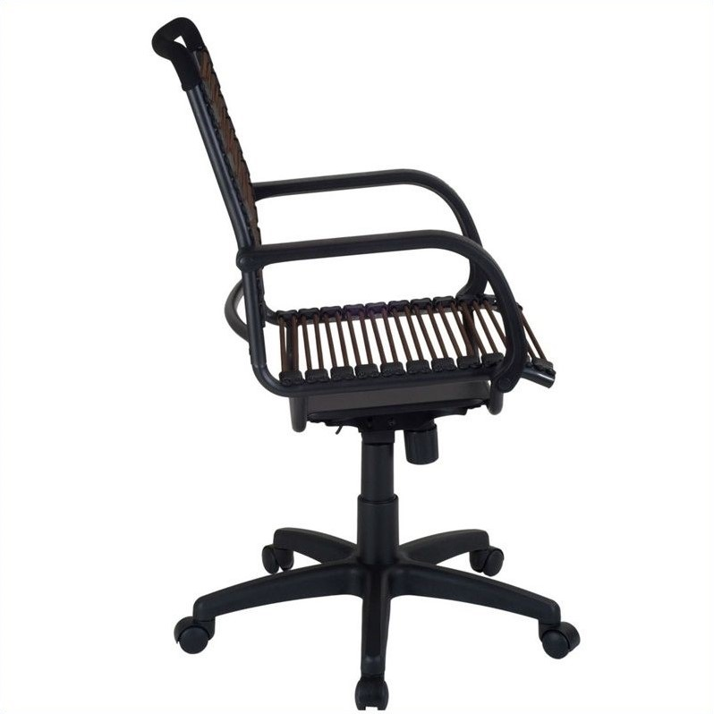 Eurostyle Bungie High Back Office Chair in Brown and Graphite Black
