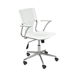 Eurostyle Terry Office Chair in White