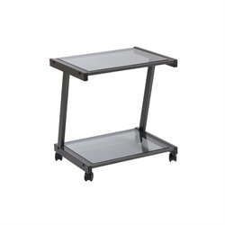 Eurostyle Printer Stand in Graphite Black