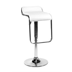 Eurostyle Fuller Adjustable Bar Stool in White
