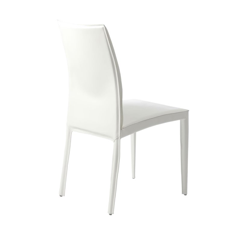 Eurostyle Dafney Dining Chair in White
