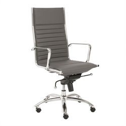 Eurostyle Dirk High Back Office Chair in Gray