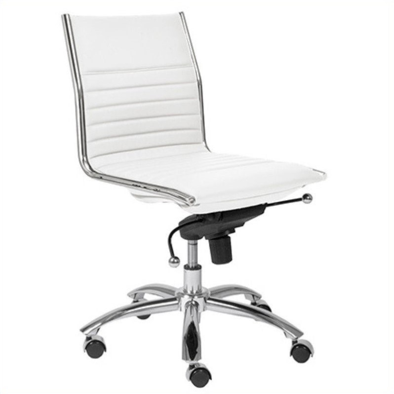Eurostyle Dirk White Office Chair