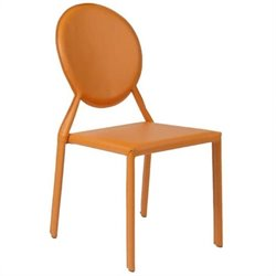 Eurostyle Isabella  Dining Chair in Orange