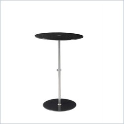 Eurostyle Raina Bistro Table in Black