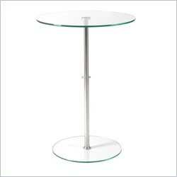 Eurostyle Raina Bistro Table in Clear