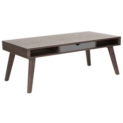 Eurostyle Daniel Coffee Table in Walnut