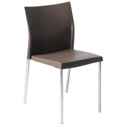 Eurostyle Yeva  Dining Chair in Brown