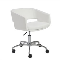 Eurostyle Amelia Office Chair in White