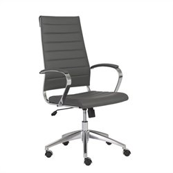 Eurostyle Axel High Back Office Chair in Gray