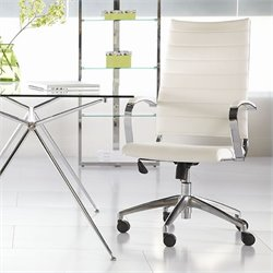 Eurostyle Axel High Back Office Chair in White