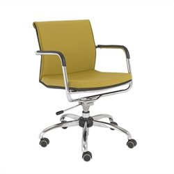Eurostyle Baird Office Chair in Mustard Yellow