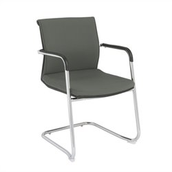 Eurostyle Baird Visitor Guest Chair in Gray