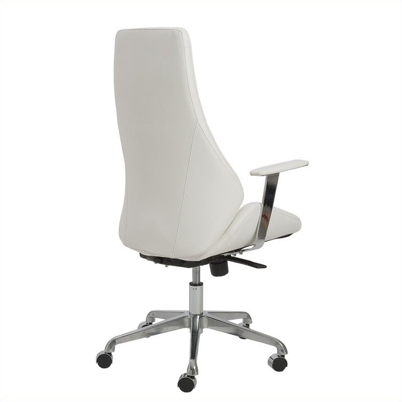 Eurostyle Bergen High Back Office Chair in White