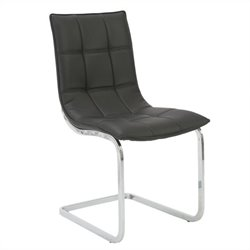 Eurostyle Chad Side Chair in Black