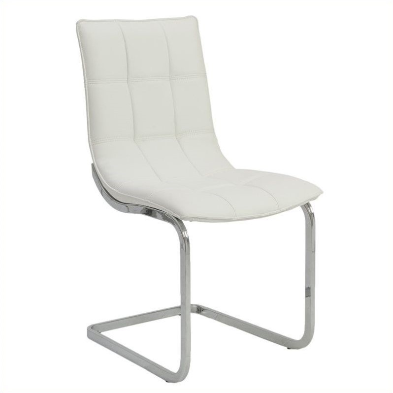 Chad Side Chair in White