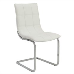 Eurostyle Chad Side Chair in White