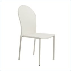 Eurostyle Coco Side Chair in White