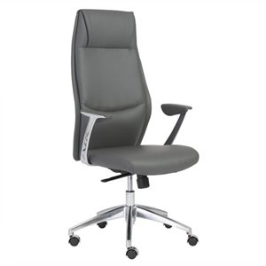 Eurostyle Crosby High Back Office Chair in Gray
