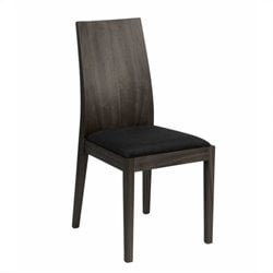 Eurostyle Deanna Side Chair in Wenge