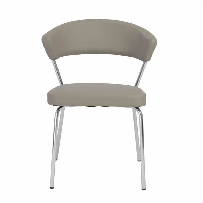 Eurostyle Draco  Dining Chair in Taupe