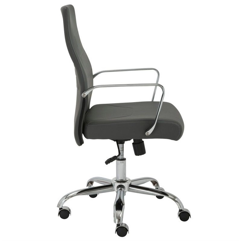 Eurostyle Fenella Office Chair in Gray