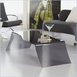 Eurostyle Orfea Glass Coffee Table in Smoked