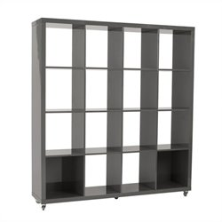 Eurostyle Sabra 4X4 Shelving Unit in Gray