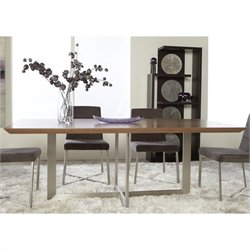 Eurostyle Tosca Dining Table in Walnut